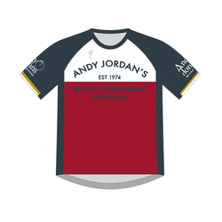 Andy Jordan's Throwback Enduro Sport Jersey Tee - PRE-ORDER ONLY