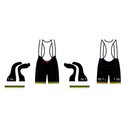 Andy Jordan's Throwback SL Expert Bib Short