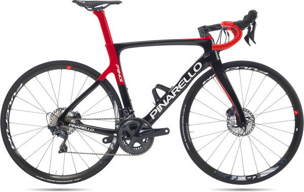 Pinarello Prince Disk Color: Black/Red