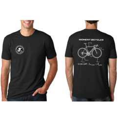 Moment Cycle Sport Freebody Diagram T-Shirt
