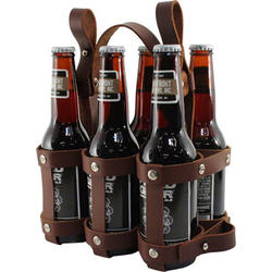 Fyxation Leather 6-Pack Caddy