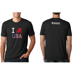 Moment Cycle Sport I Bike USA T-Shirt