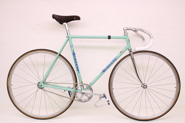 Bianchi Vintage Classic Bianchi Track Bicycle Italy Campagnolo Piaggio 54cm CLEAN Roval