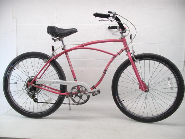 Used Pink Schwinn Cruiser 17