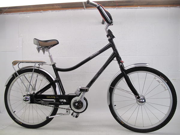 "Used 2009 Giant Suede Coasting DX 18"" 3 Speed Cruiser"
