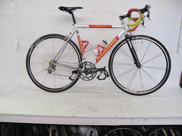 Marin Marin Treviso Italian Columbus Steel Road Bike 56c Team Shaklee Italy