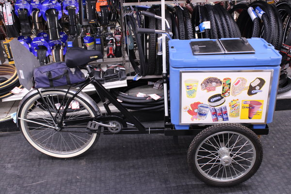 Ice Cream Bike Cargo Bike Bicycle Truck Trike 3 Wheeler Cooler