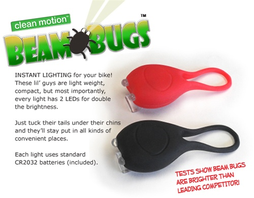 Clean Motion Beam Bug Light Set