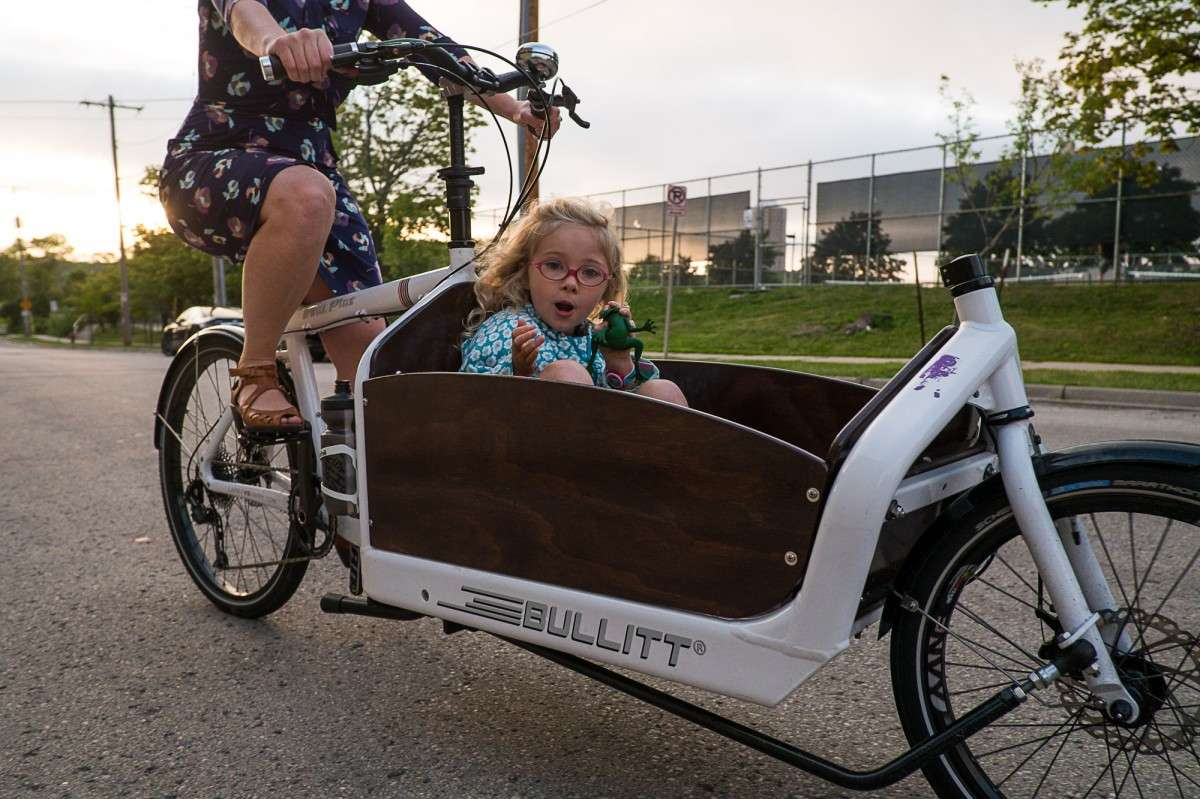 New style of bicycle cargo bike changing lives south shore cyclery milwaukee wi 414 831 0211