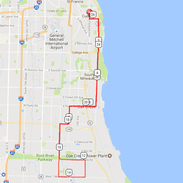 Group ride map