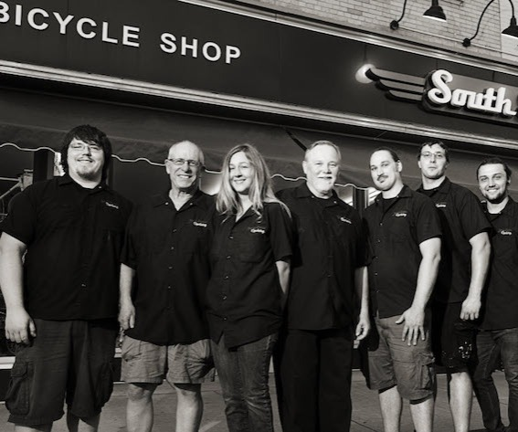 The South Shore Cyclery crew