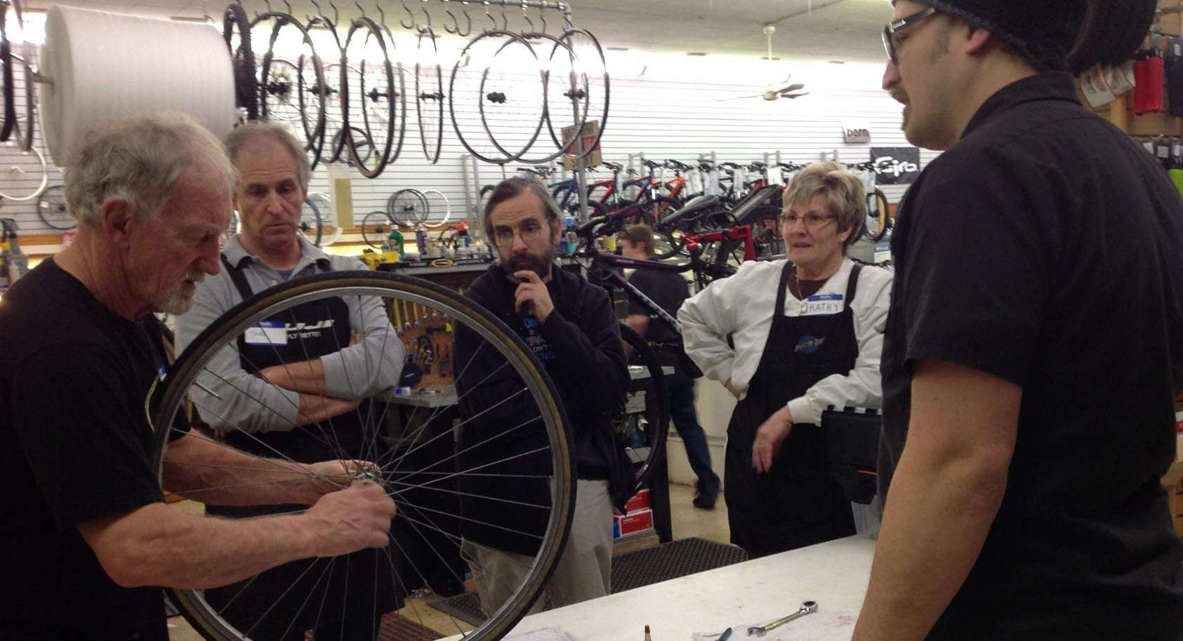 Bike repair & maintenance clinics