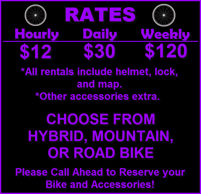 Bike Rentals - South Shore Cyclery