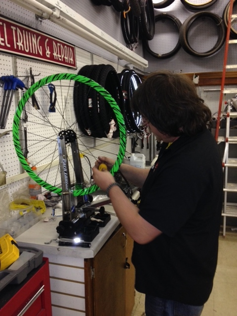Custom Wheel Building - South Shore Cyclery