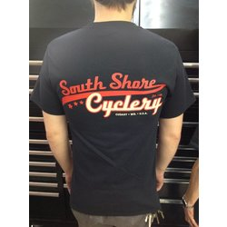 South Shore Cyclery SSC T Shirt Black