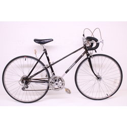 Vintage ladies Zebrakenko Mixte Thunder Black 12 Speed Suntour AR 19.5'' Road