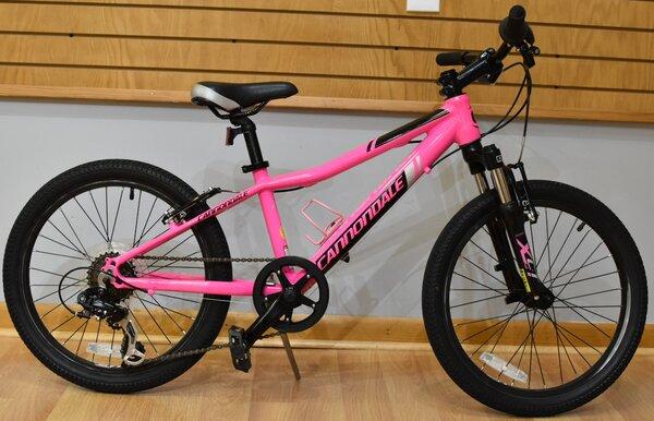 """Used Cannondale Trail 20 Girls 20"""" Kids Bike"""