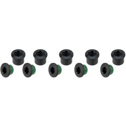 Sram Chainring Bolts Set of 5 - Black