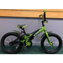 Used Trek Jet 16 Boys Green/Black