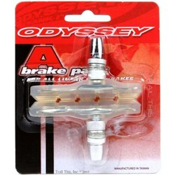 Odyssey A Brake Shoes Clear (Soft Compound) Pair