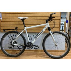 Used - Decommissioned Cannondale Police Bike, Large, Deore XT