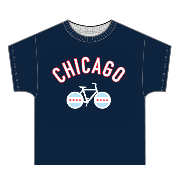 Zeitbike Chicago Bike T-Shirt