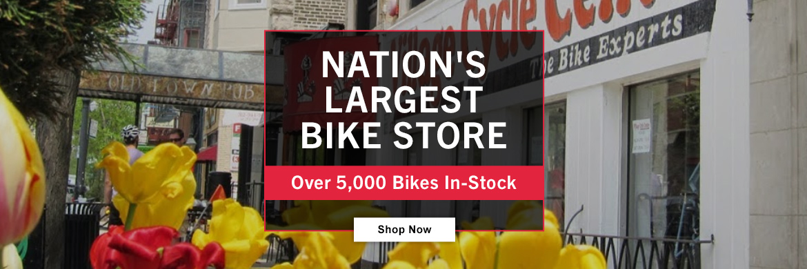 Over 5,000 bikes in-stock!