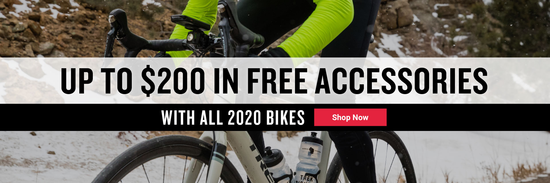 free accessories with all 2020 bikes
