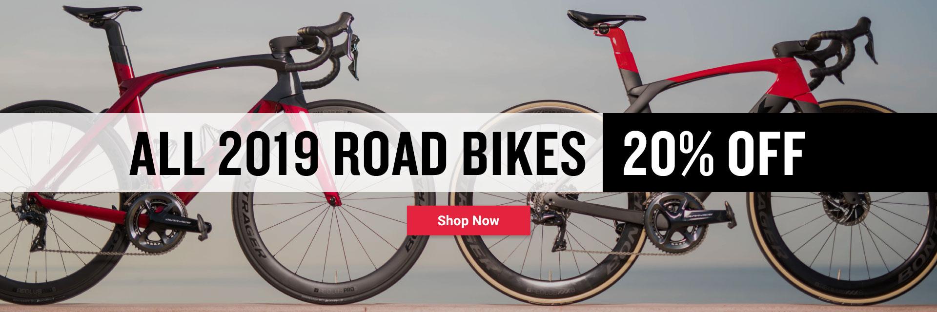 2019 road bikes on sale