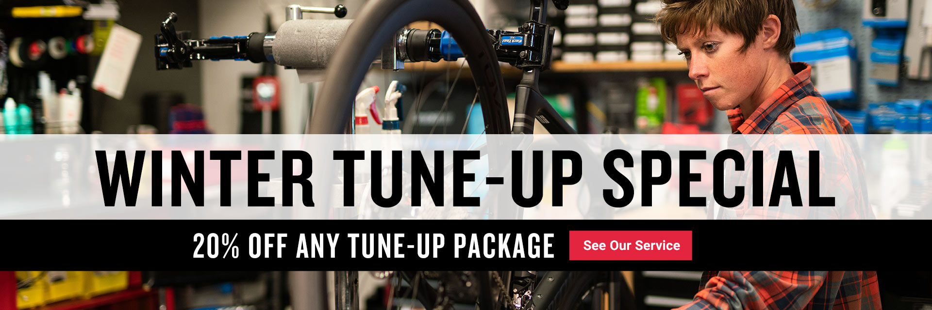 Save 20% off any tune-up