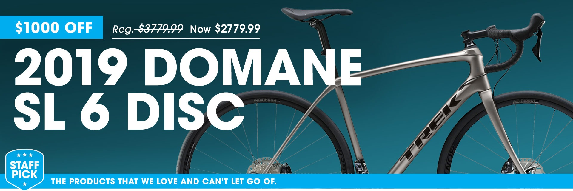 2019 Domane SL 6 Disc - $980 Off