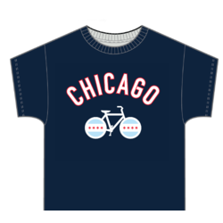 Zeitbike Chicago Bike T-Shirt