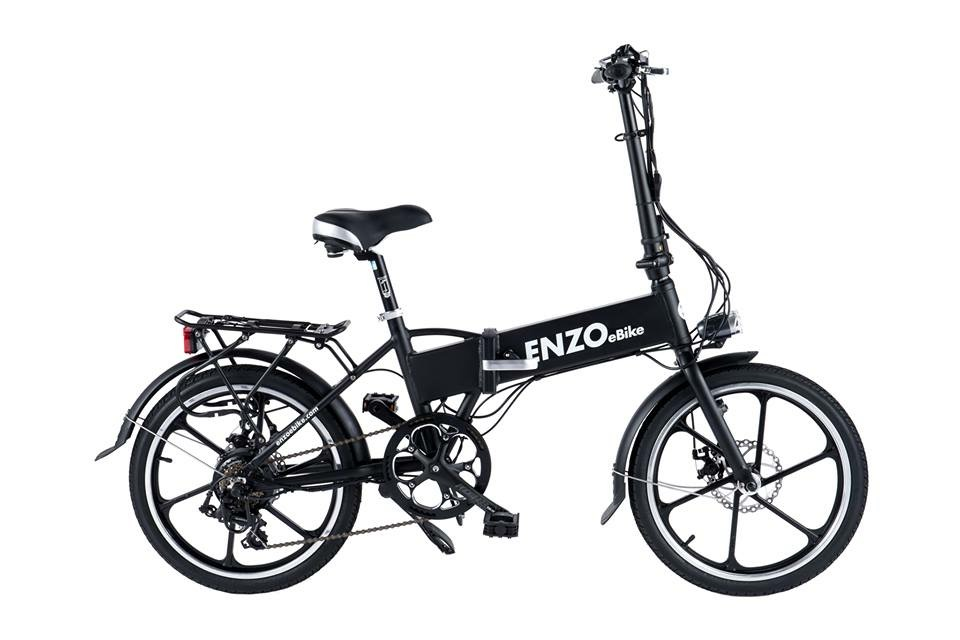 Enzo E-bikes at B&J Bicycles