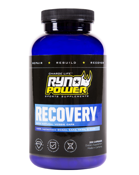 Ryno Power Recovery Caps 200ct
