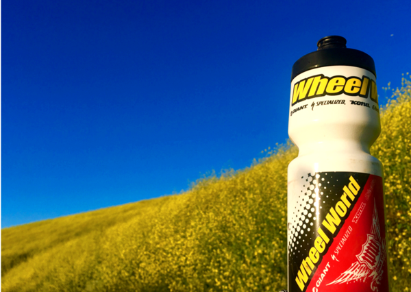 "Specialized Wheel World Water Bottle ""Purist"" (Made by Specialized)"