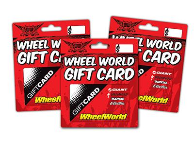 Wheel World Gift Card