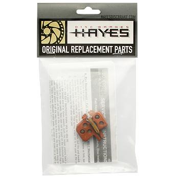Hayes sintered-metallic brake pad pair