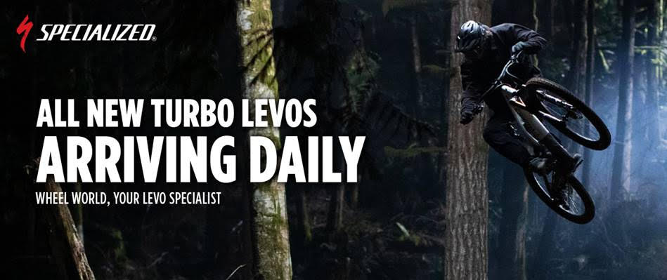 Specialized all new turbo levos arriving daily wheel world, your levo specialist