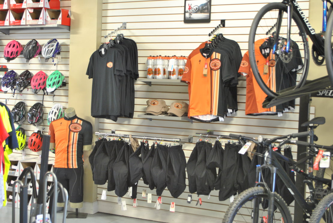 Foley Bike Shop Custom Gear
