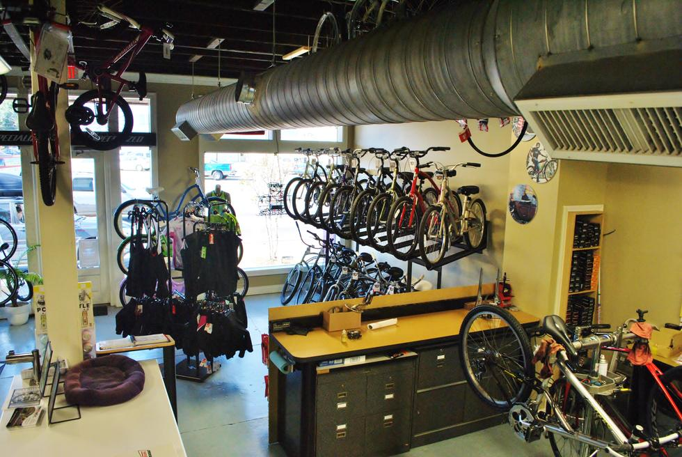 Foley Bike Shop Service Department