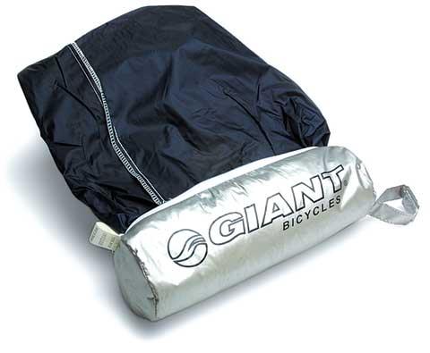 Giant Logo Bike Cover w/ Bag Silver