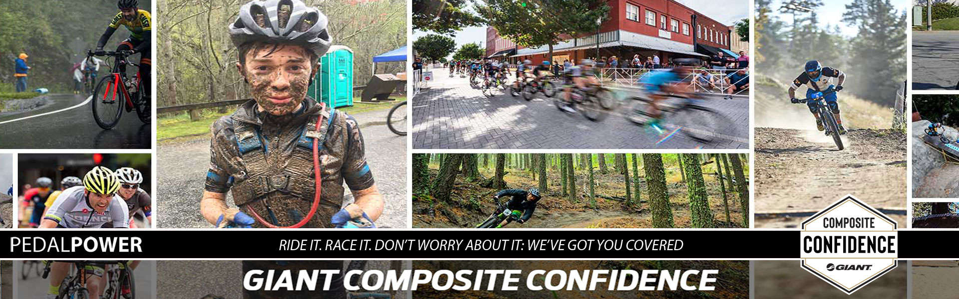 PedalPower Giant Composite Confidence