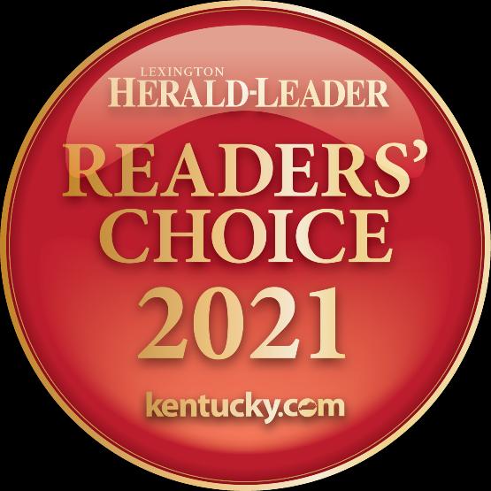 Reader's Choice Award Winner 2021