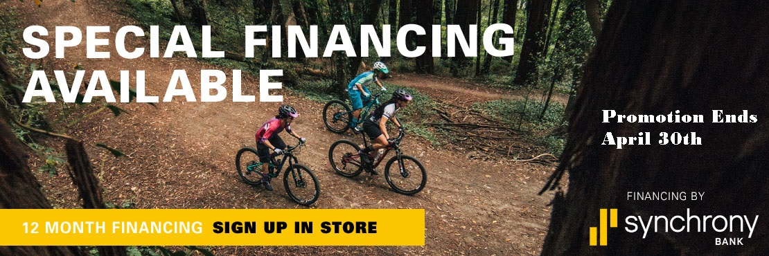 Special Financing Available at Cal Coast Bicycles
