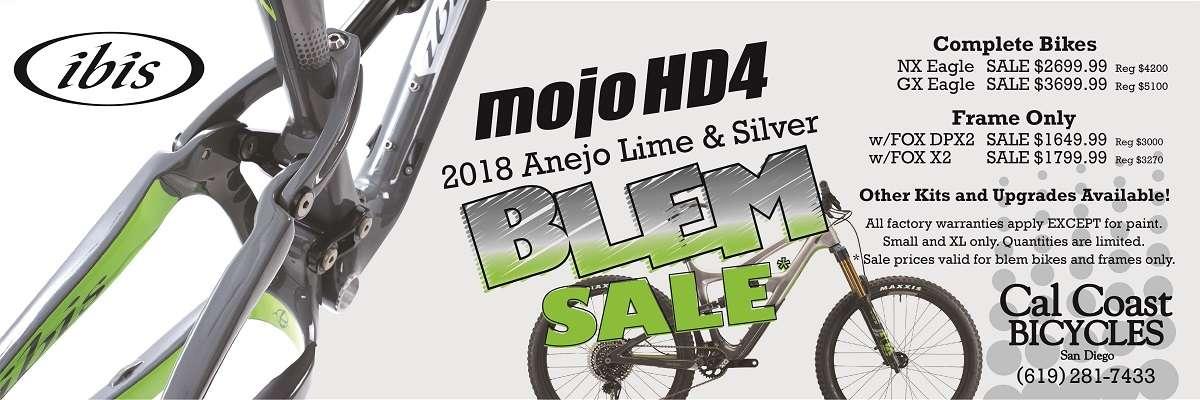 Ibis Mojo HD4 Blem Sale at Cal Coast Bicycles