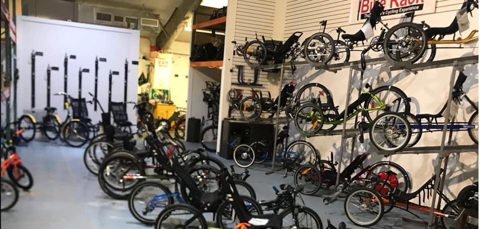 The Bike Rack's Adaptive Cycles
