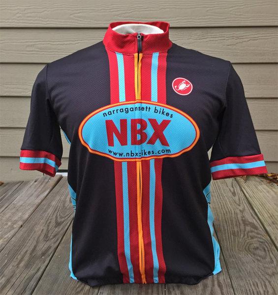 NBX Bikes Men's Club Jersey - Semi-fitted