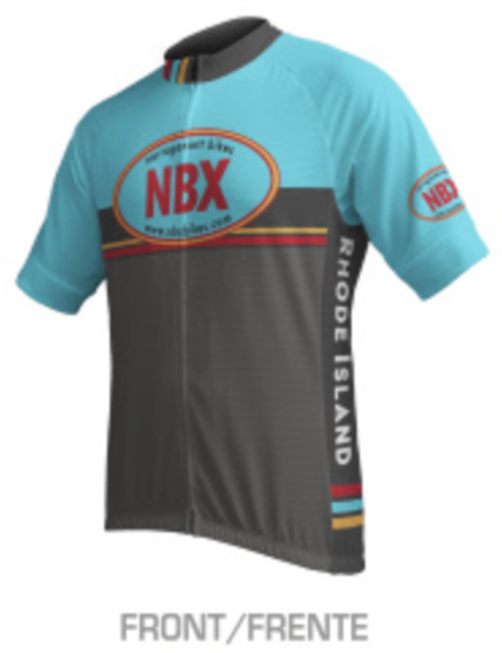 NBX Bikes Men's Club Jersey - Relaxed Fit