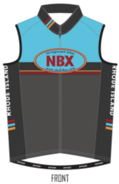 NBX Bikes Club Windshell Vest