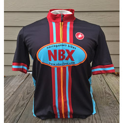 NBX Bikes Men's Club Jersey - Semi-fitted